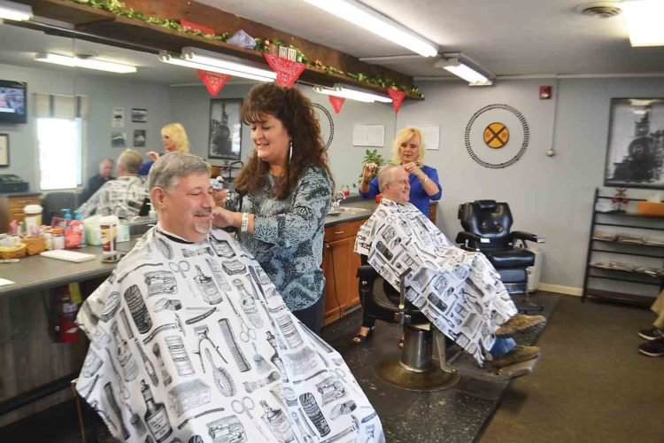 haircut carson city sportsman expo reels in sizeable crowd in parkersburg 1233 | 03 04 18 Barbers tle 750x500