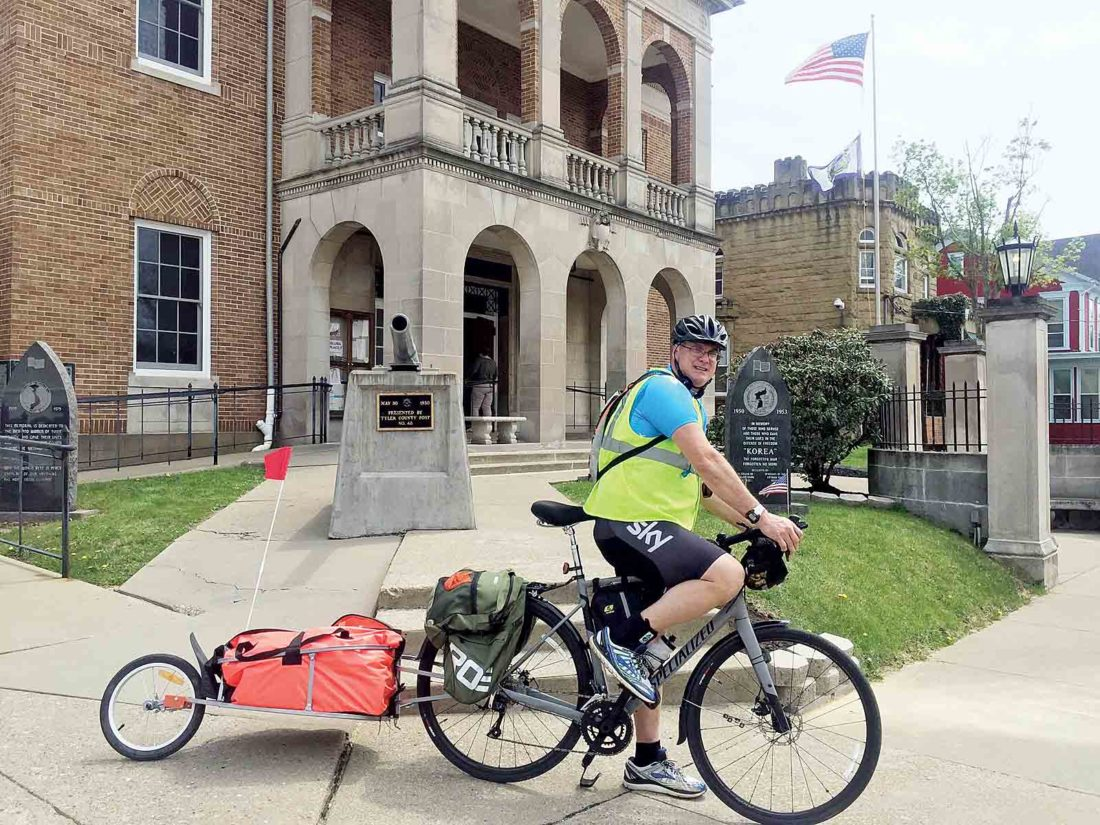 Middlebourne pastor embarking on 1,200-mile bicycle voyage