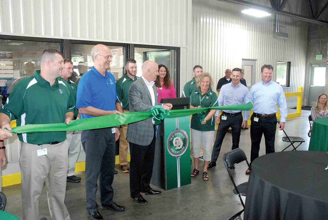 Old Dominion Freight Line cuts ribbon on Parkersburg service