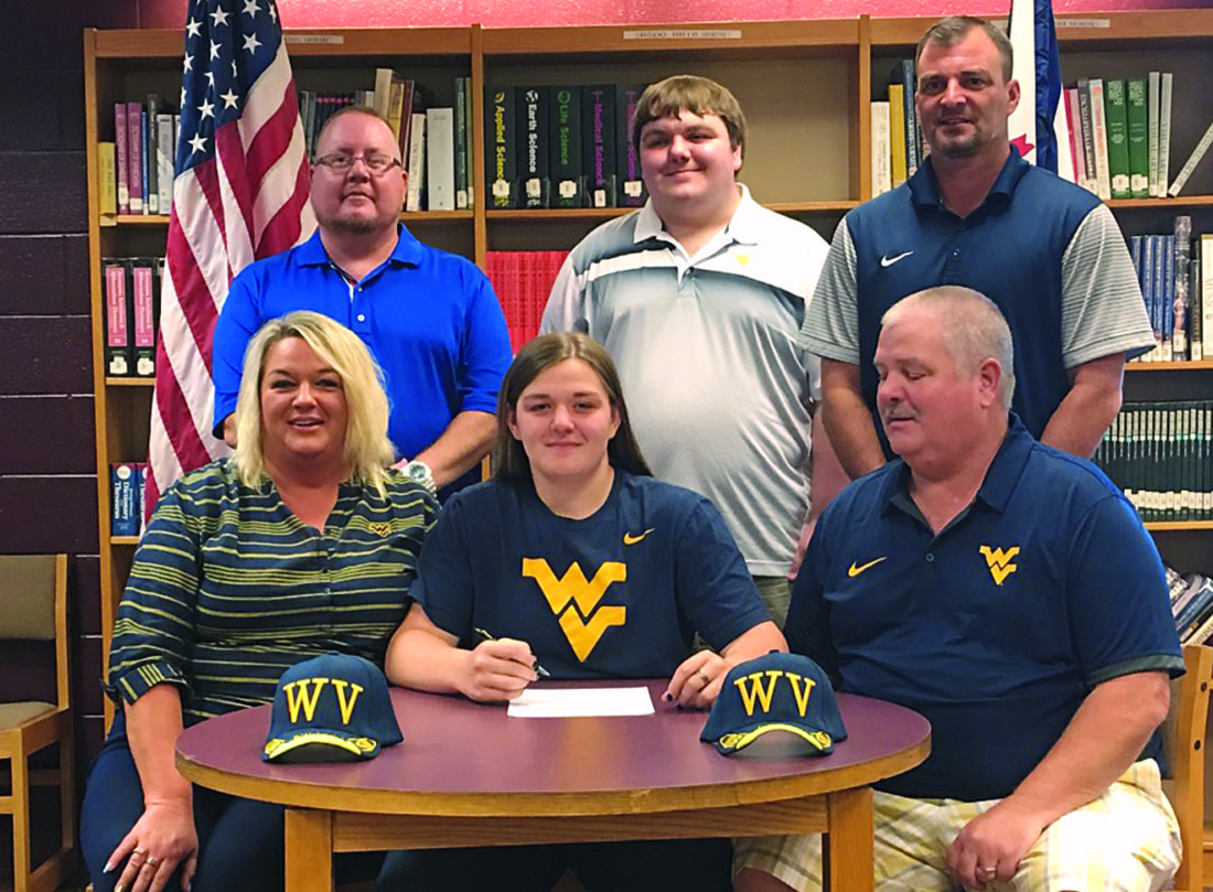 Gilmer County's Sada Wright signs with West Virginia | News