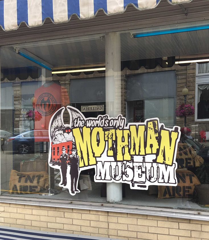 Two-hour Trips From the MOV: Point Pleasant hosts Mothman