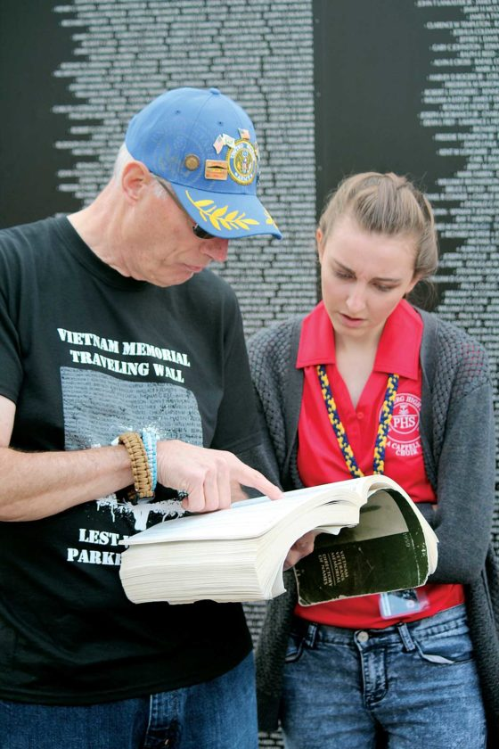 Photo Gallery: At the Vietnam Memorial Traveling Wall | News