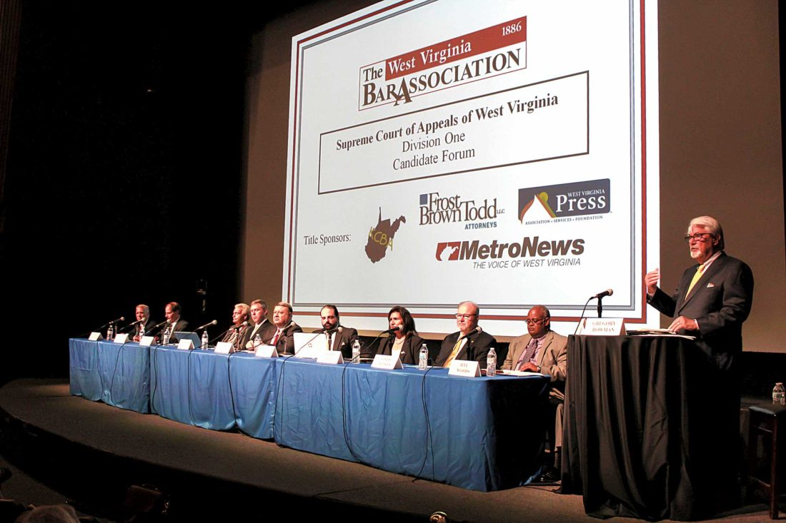 Candidates for West Virginia Supreme Court look towards future of