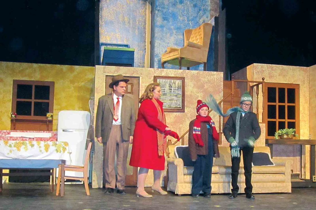 A Christmas Story Musical.Actors Guild Of Parkersburg To Present A Christmas Story