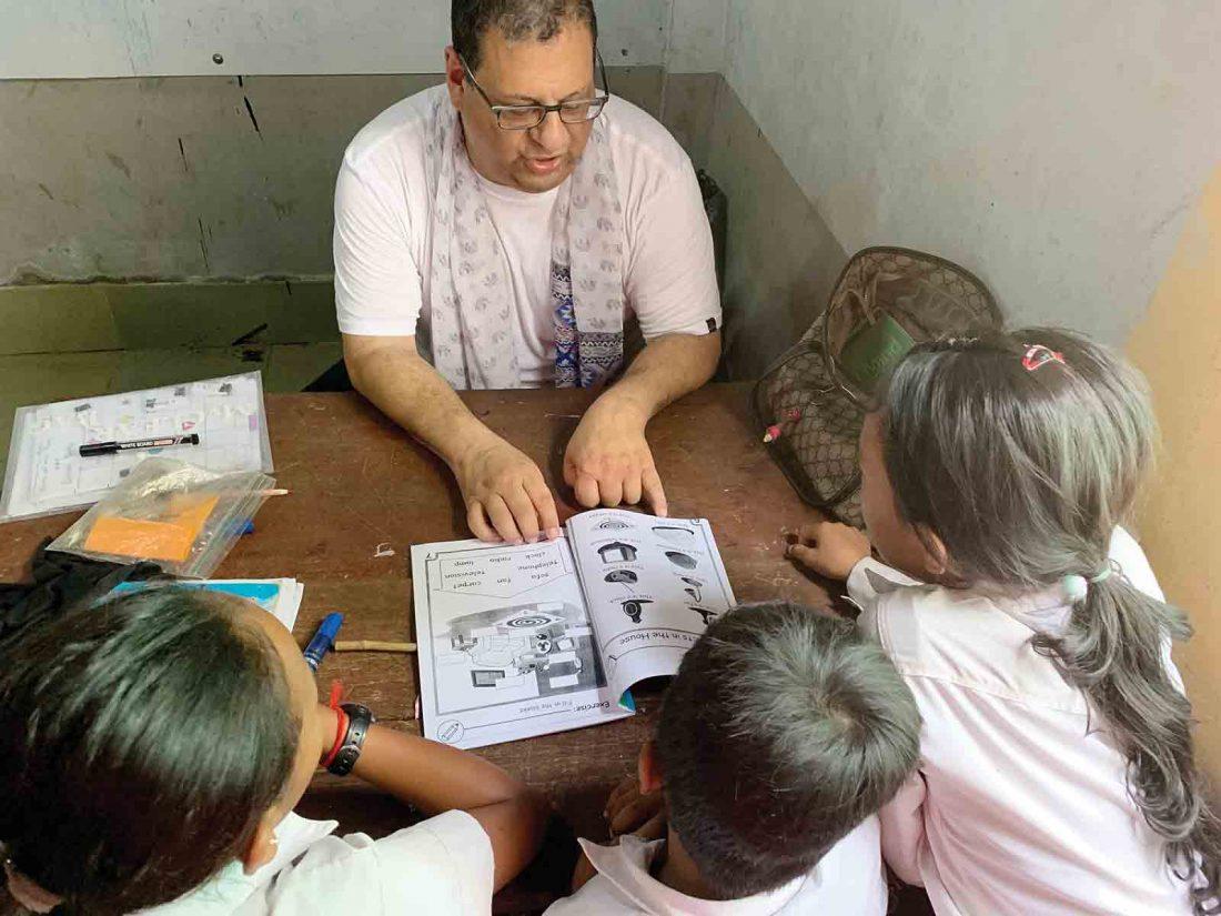 Ellems teach English in Cambodia, enjoy immersion in