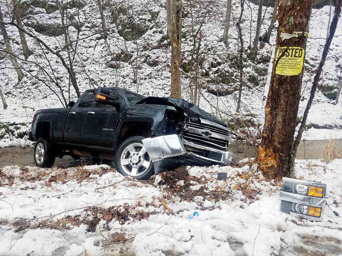 Snow, rain lead to multiple crashes | News, Sports, Jobs - News and