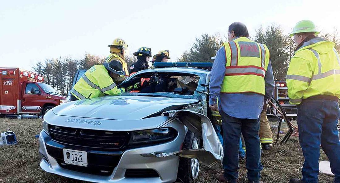 Four injured in three-vehicle crash on I-77 | News, Sports