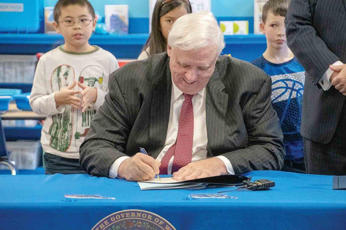Countdown to midnight: Legislation awaits governor signature