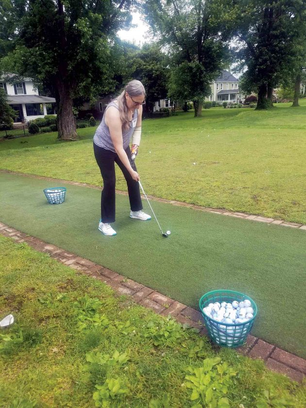 First Swing teaches golf to those with limb loss   News, Sports