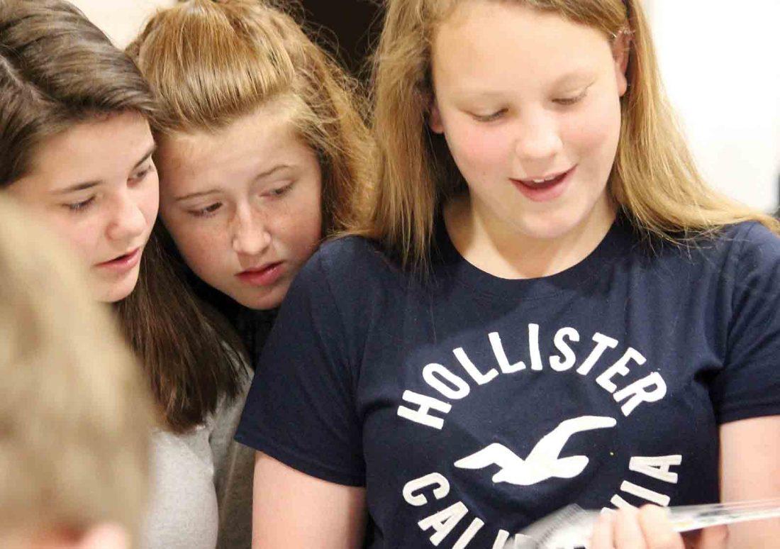 Program teaches Hamilton Middle School students life expenses