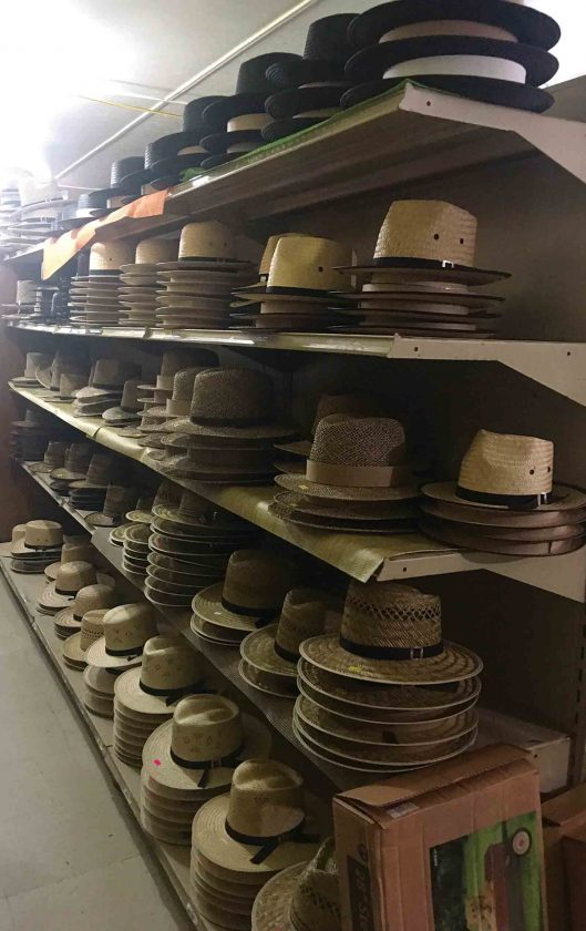 0edb6051 Photo by Amy Phelps A shelf of straw hats are available in an Amish-run general  store.