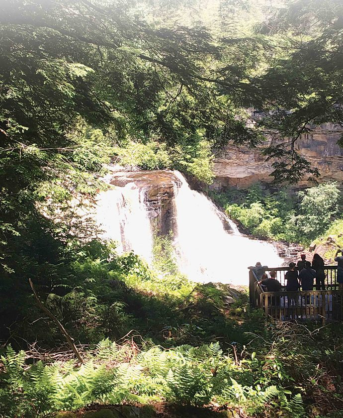 Blackwater Falls State Park >> Blackwater Falls Area Offers Outdoor Recreation News Sports Jobs
