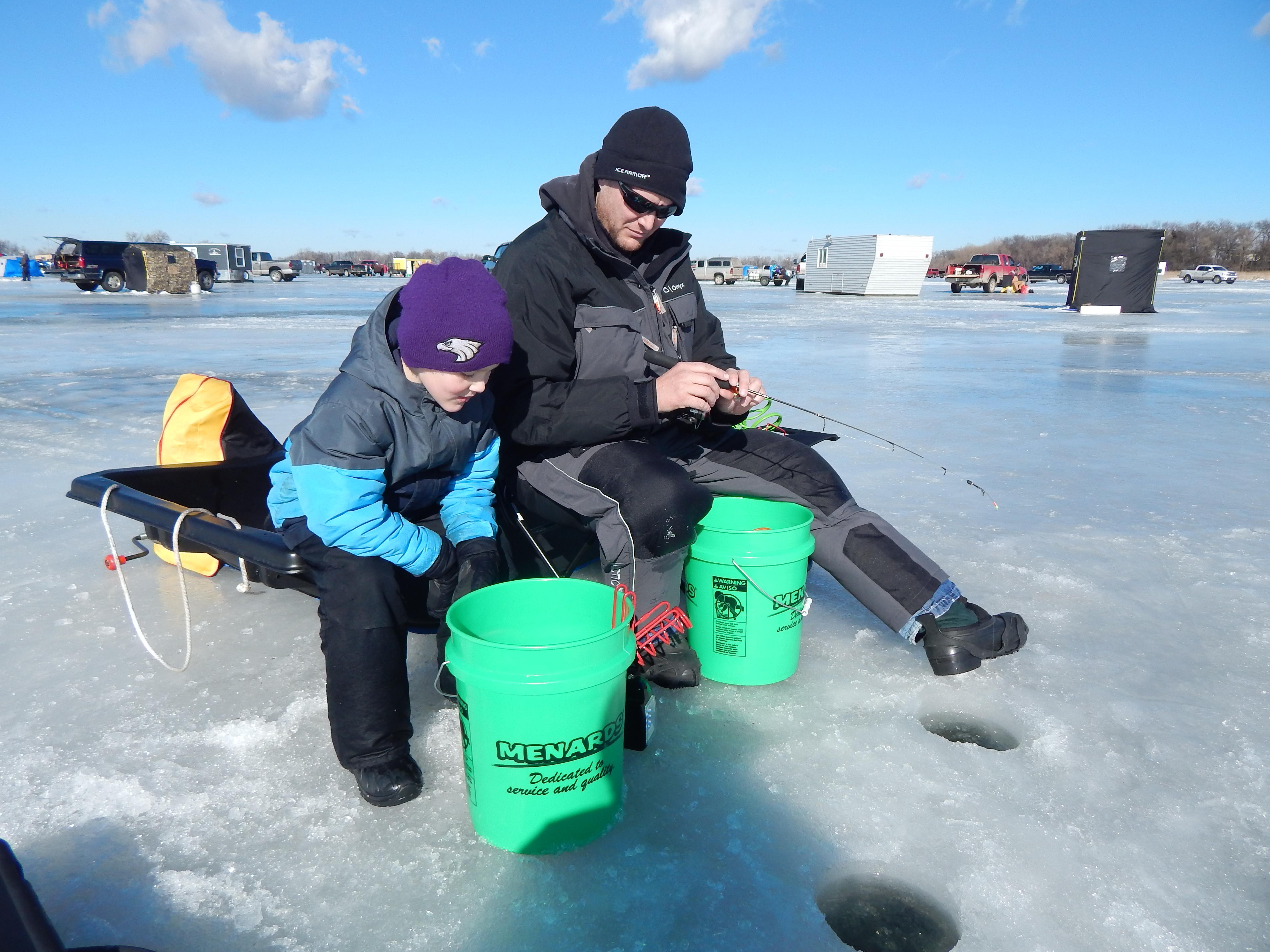 Ice Fishing Car Accident Feb