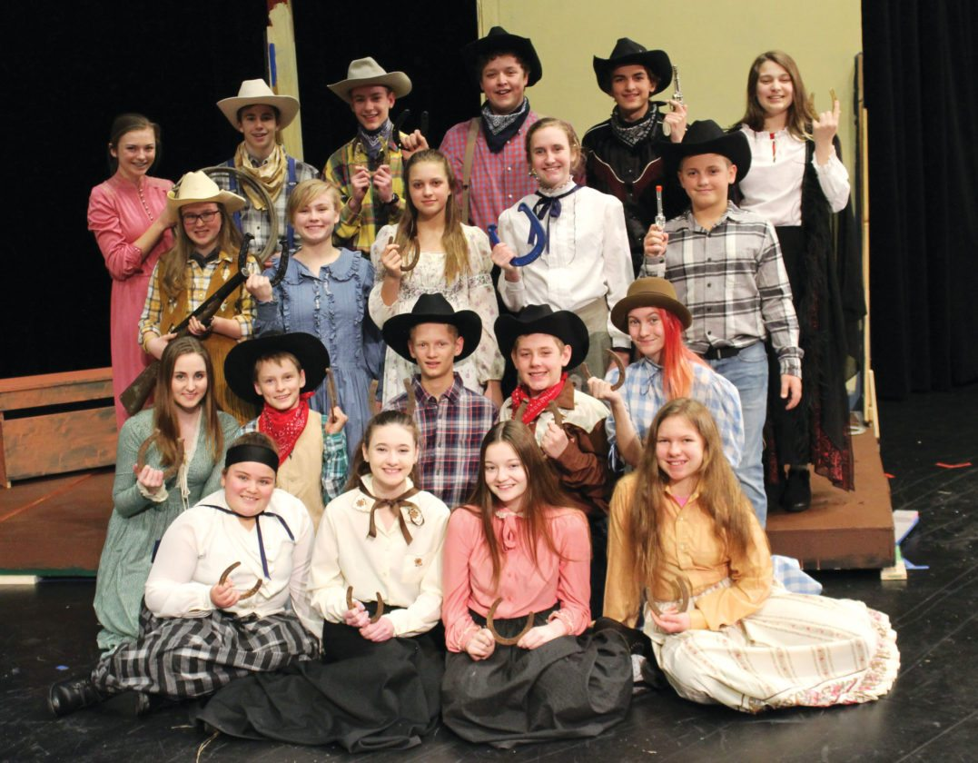 The New Ulm middle school presents… Saga of the Golden