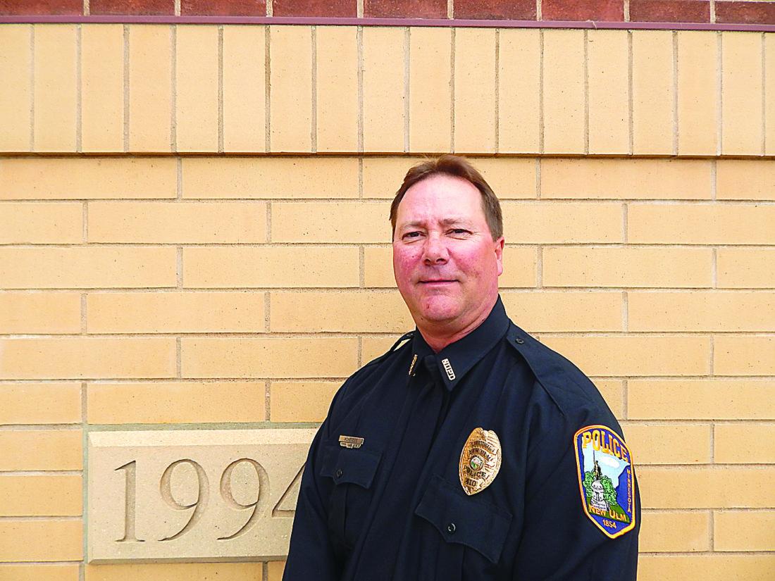 NEW ULM POLICE MINNESOTA MN PATCH SHERIFF