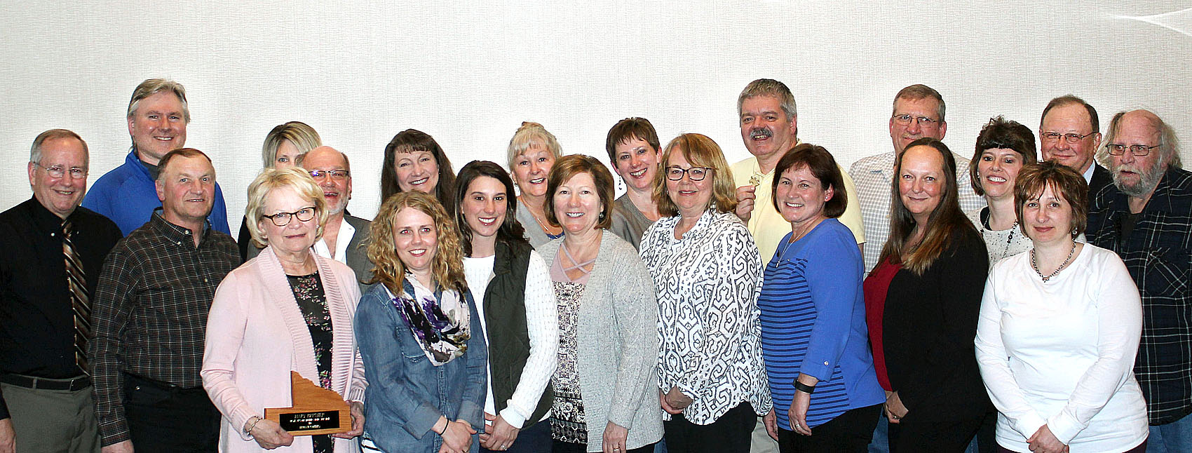 Brown County Honors Employees