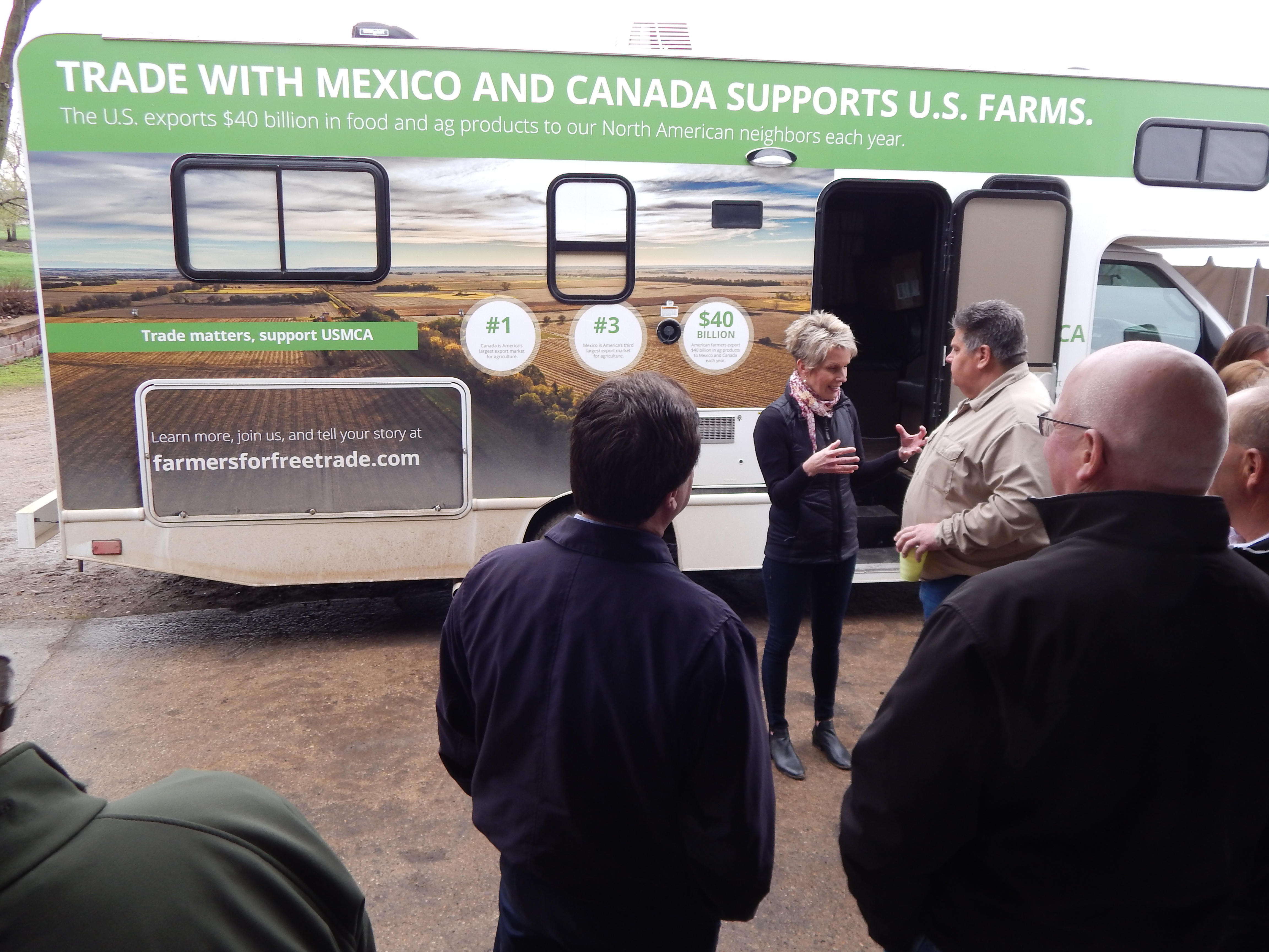 Farmers for Free Trade at Hoffman Dairy | News, Sports, Jobs - The