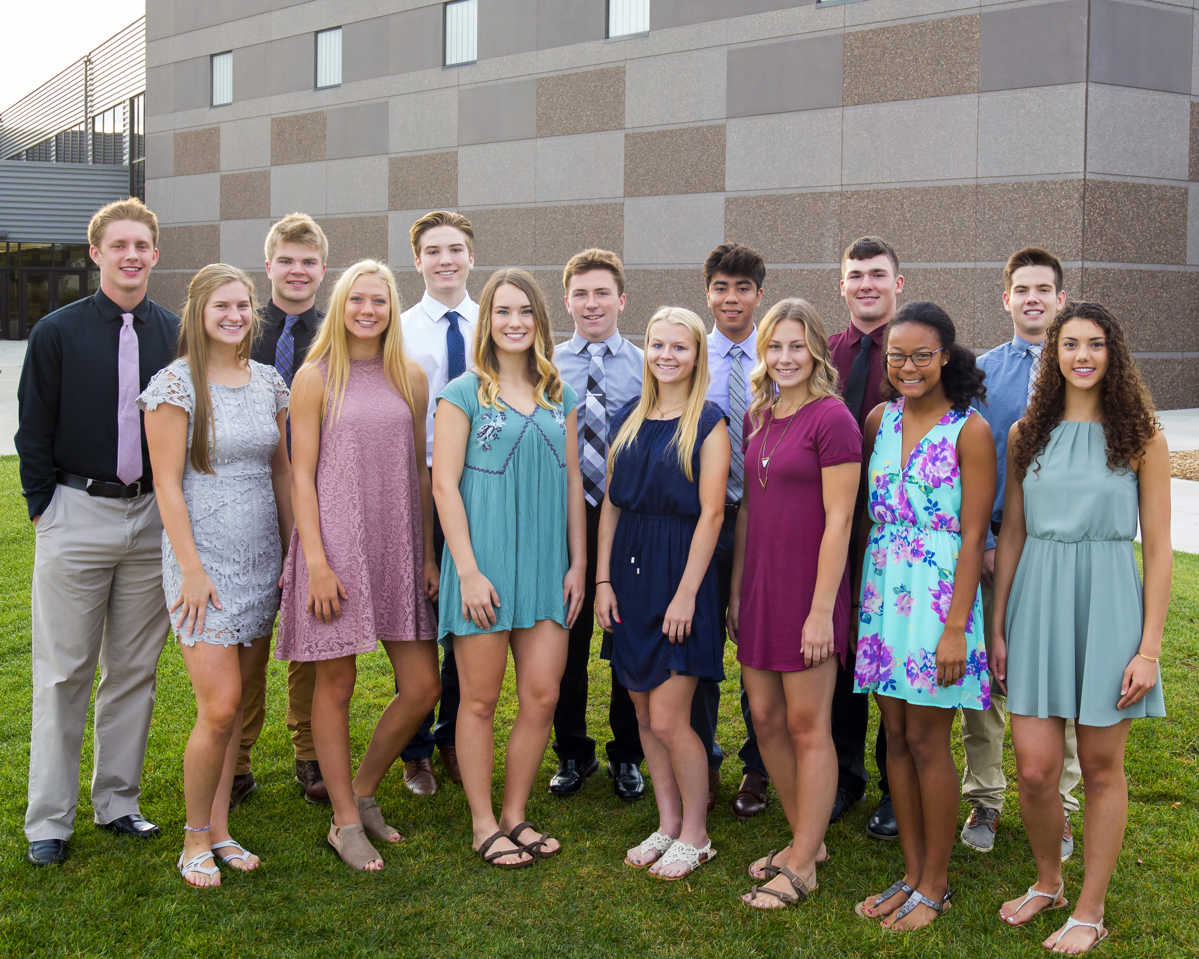 New Ulm High Homecoming Court News Sports Jobs The Journal