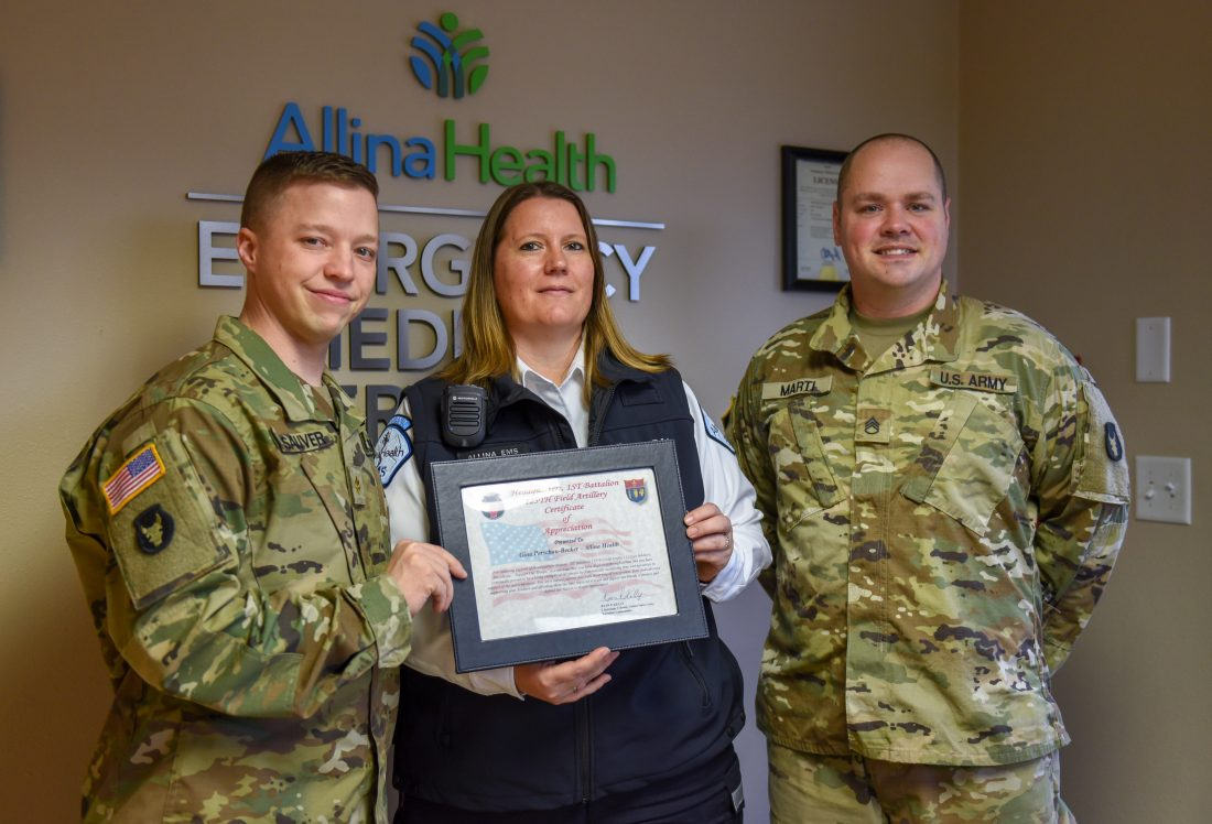Allina Health Operations supervisor receives award | News ...
