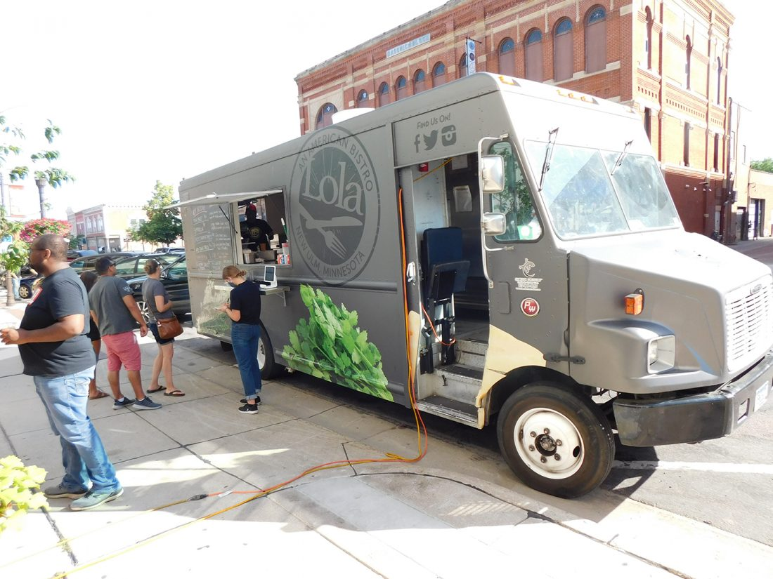 In COVID-19 era, food trucks flourish