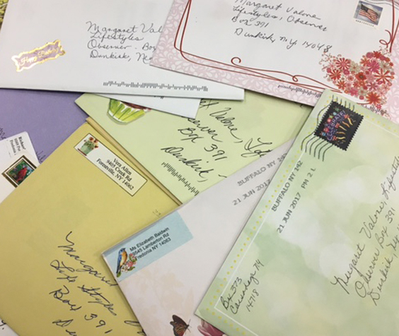 More than 50 cards have come in to the OBSERVER office for columnist Margaret Valone.