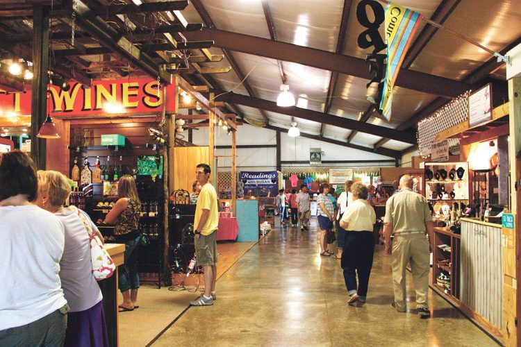 OBSERVERPhoto by Tonya Dodd Cross Roads Farm &Craft Market held a Grand Opening event under new management.It was also part of a 20th anniversary party as the facility hosts and promotes local farmers, crafters and artisans and their goods.