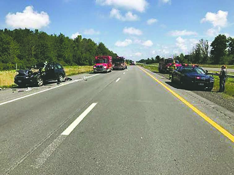 Accident on the Thruway backs up traffic | News, Sports