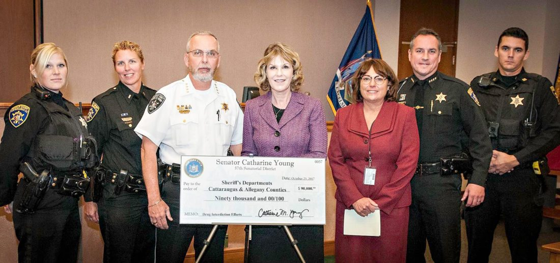 Cattaraugus, Allegany counties to receive $90,000 for drug