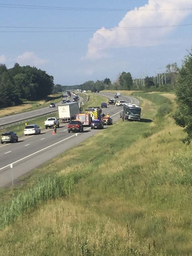 Traffic slowed on I-90 due to accident | News, Sports, Jobs