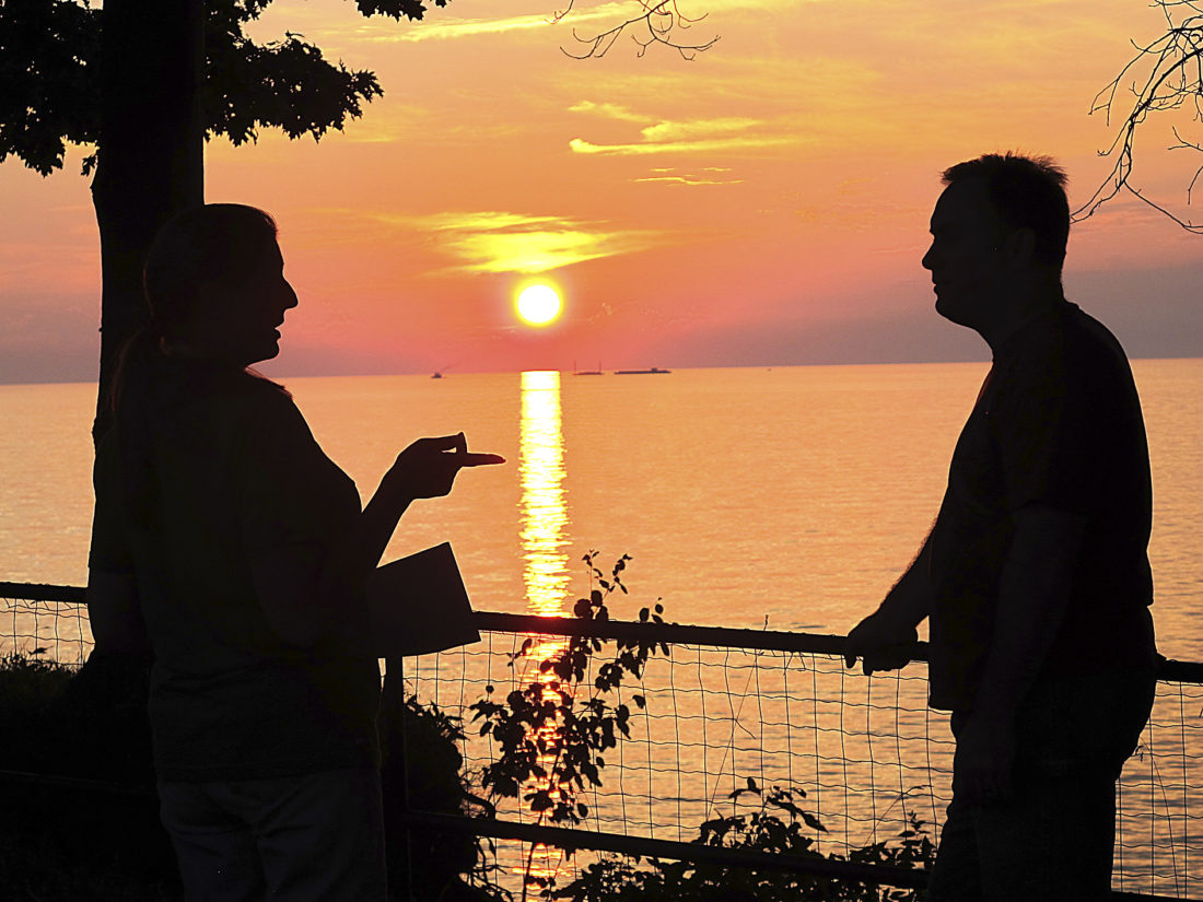 Sunset at the lighthouse | News, Sports, Jobs - Observer Today