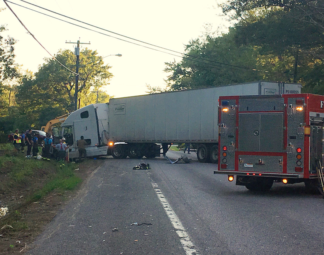Tractor trailer involved in accident on Route 5 | News, Sports, Jobs