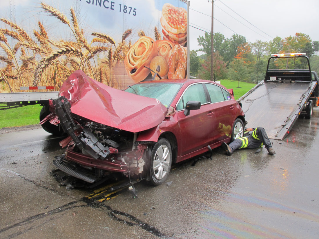 Three cars involved in Route 60 accident | News, Sports, Jobs