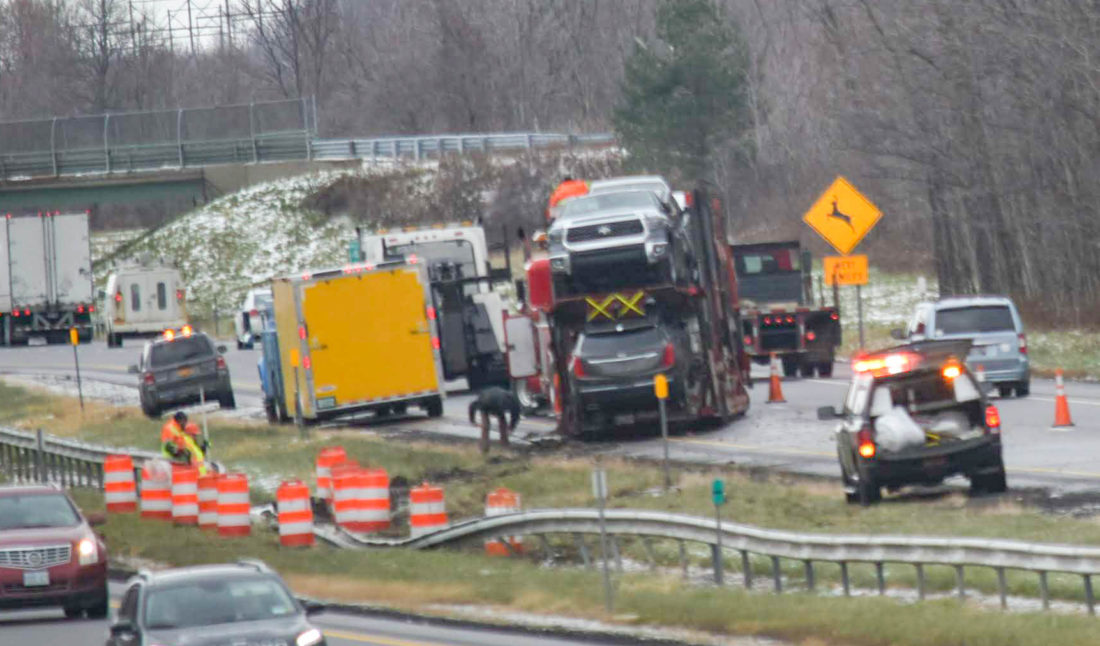 Morning accident delays traffic on Thruway   News, Sports