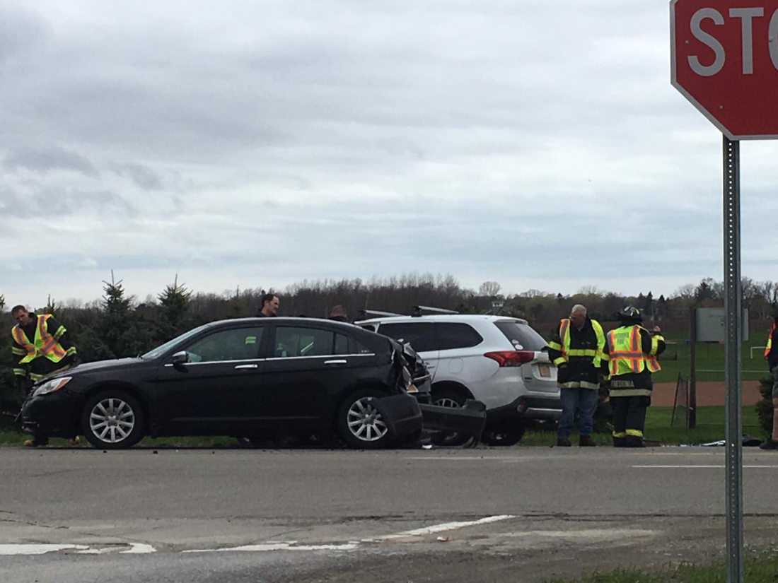 Two car accident on Route 60 | News, Sports, Jobs - Observer Today
