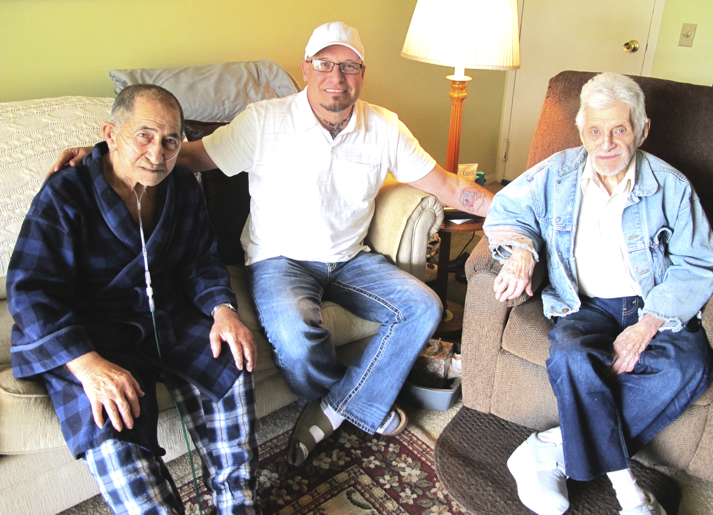 Area man reunites childhood friends eight decades later
