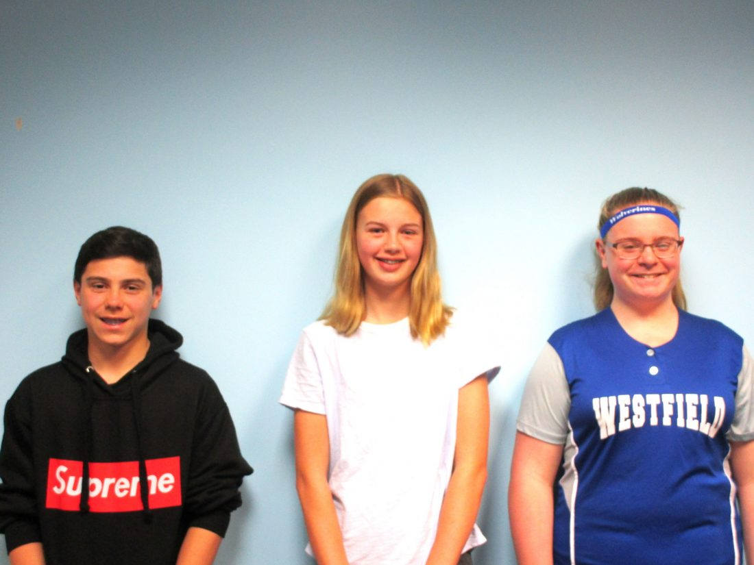 Westfield Middle School Students of the Month | News, Sports