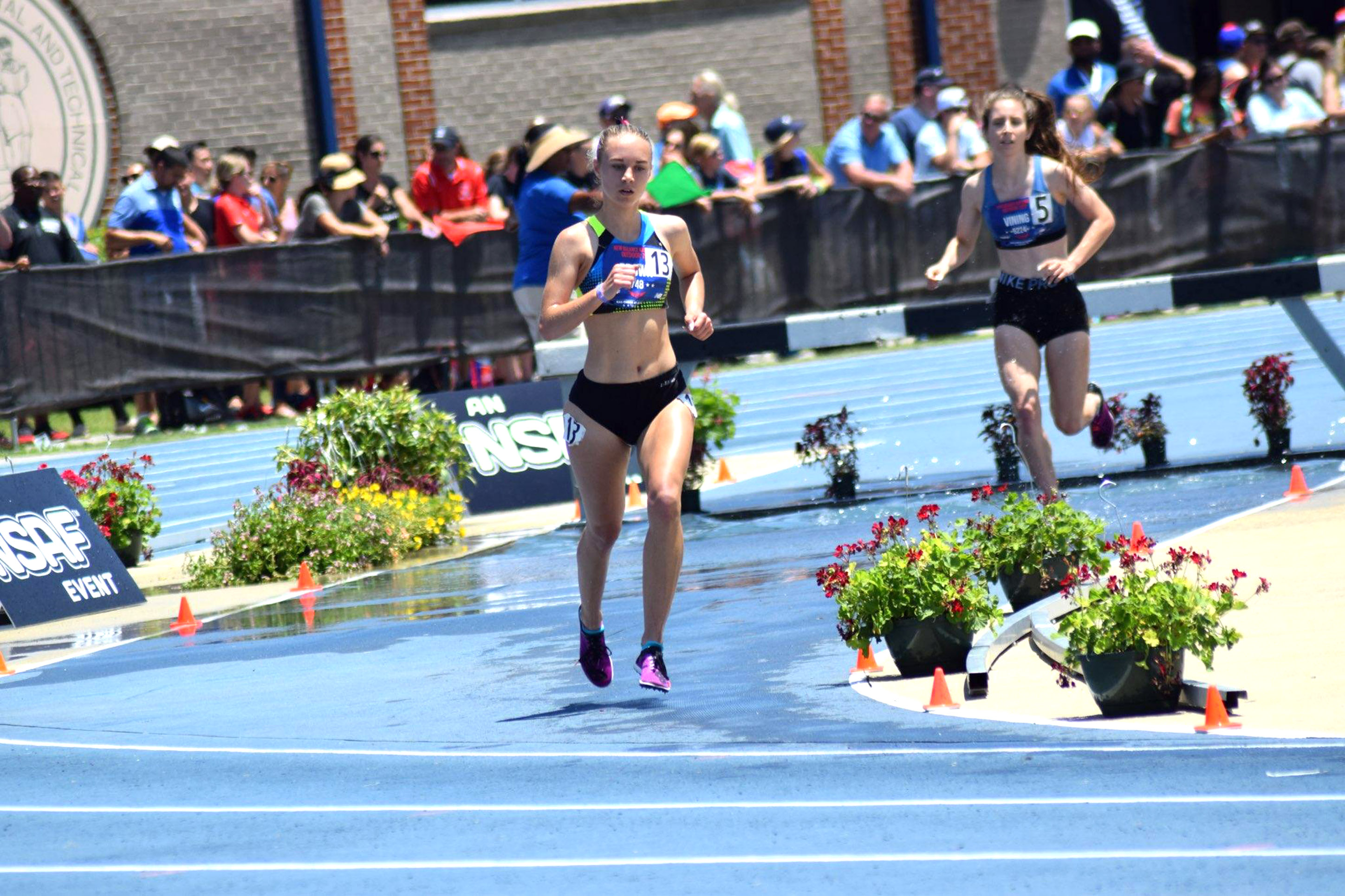 Emily Brown Competes At The New Balance Scholastic