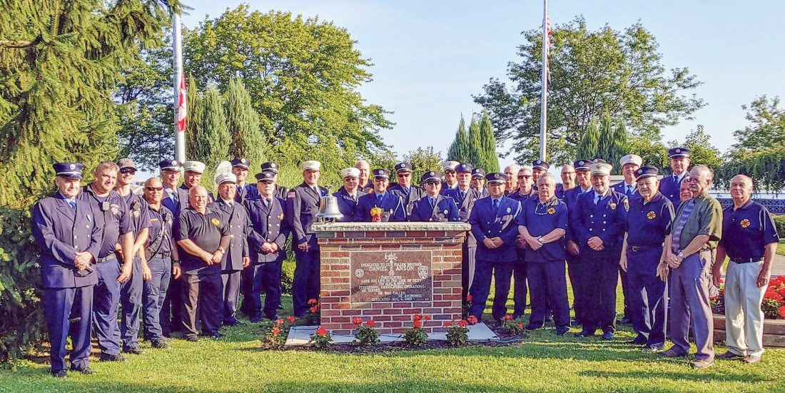 Ceremony honors fallen city firefighter | News, Sports, Jobs