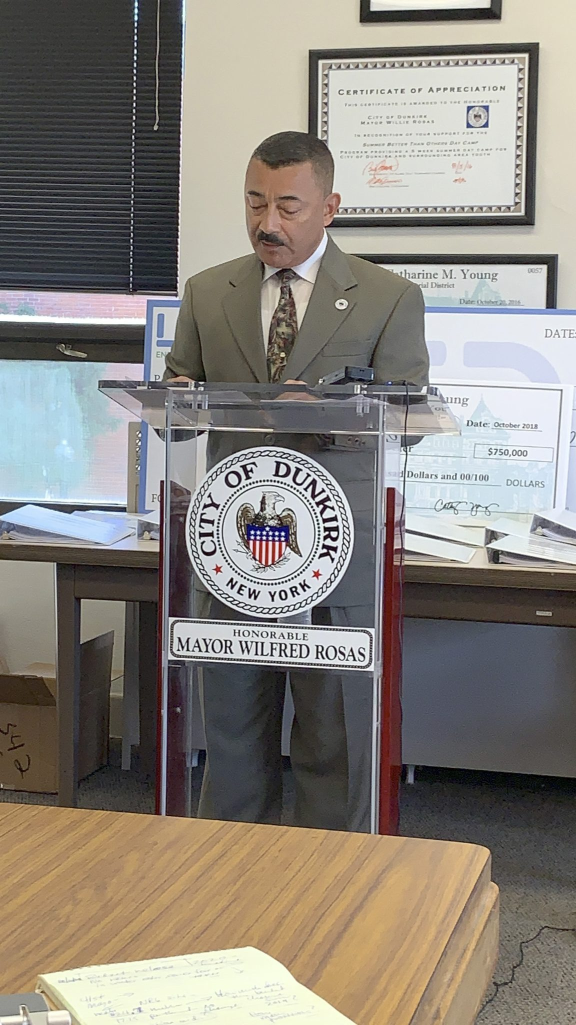No Tax Hike In Rosas' Proposed Budget
