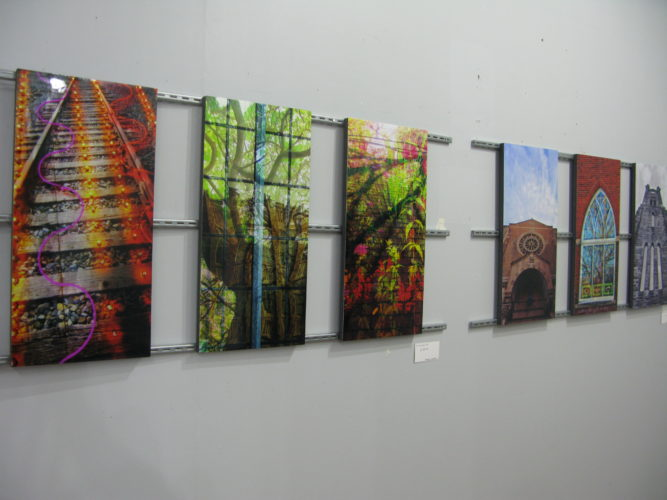 The Dykeman-Young Gallery and Vintage Emporium is currently displaying the work of eight area photographers attempting to showcase the attributes and positive aspects of Jamestown. The exhibit will remain on display through June 15, and an opening reception will be held Friday from 6-9:30 p.m. P-J photo by Gavin Paterniti