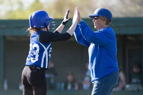 Tammy Hosier and the Panama Panthers carried a 12-1 regular season record into the playoffs before losing to eventual state finalist North Collins. Photo by Deb Bailey