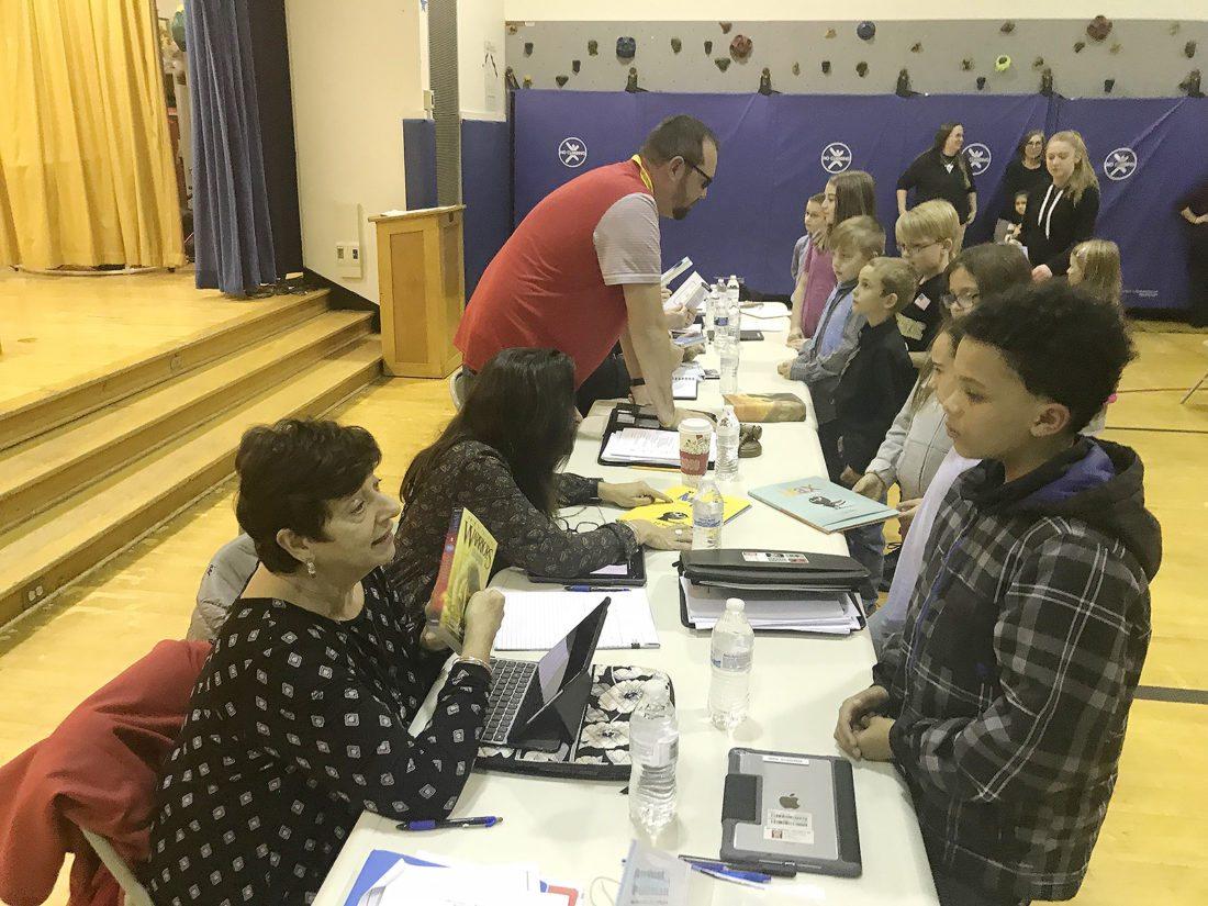 Jamestown PTA Honors Board Of Education, Donates Books