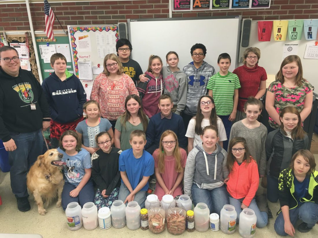 Sixth-Graders Collect Pennies | News, Sports, Jobs - Post