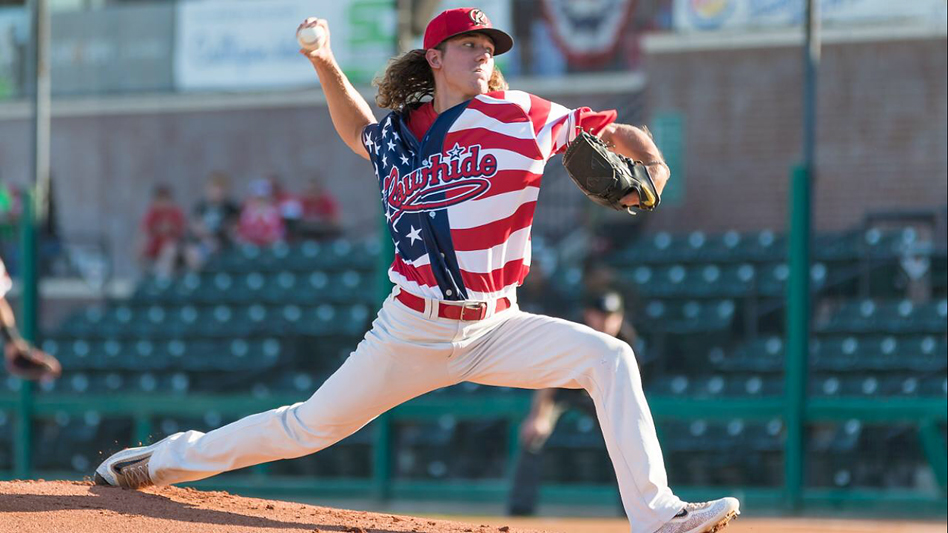 Connor Grey is 8-6 with a 5.23 ERA this season for the Visalia Rawhide of  the Class A-Advanced California League. Submitted photos cb7f3470c17e