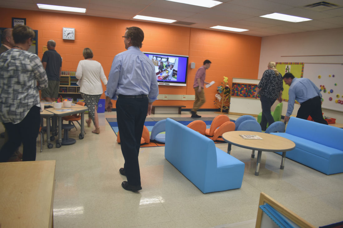 Panama School Board Tours New STEM Room | News, Sports