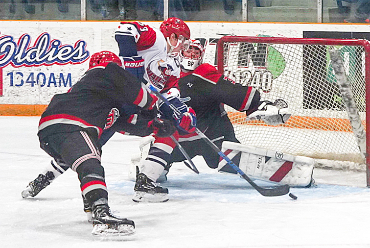 Rebels Clinch Playoff Berth With Victory Over New Jersey News