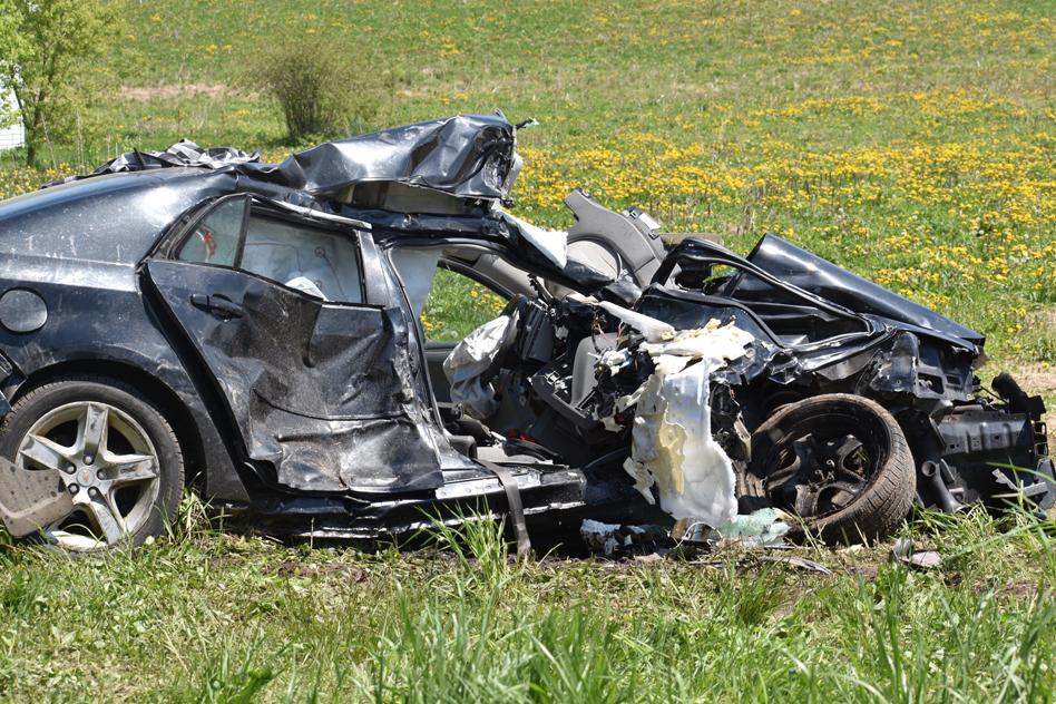 Crash Between Car-Truck Sends Three To Hospital | News