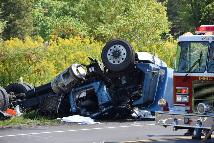 11:02 AM) Semi Driver Killed In Accident On Route 394 In