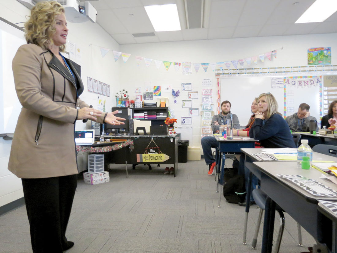 Teachers aspire to be 'great'   News, Sports, Jobs - The Review