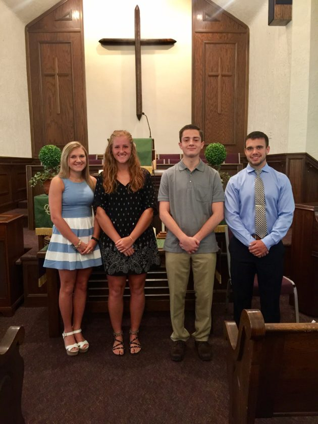 Scholarship recipients   News, Sports, Jobs - The Review